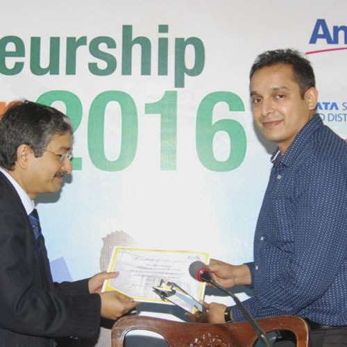 Award received- Vineet Bansal