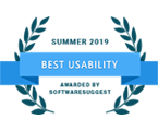Best Usability Award 2019 - Software Suggest