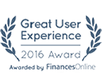Great User Experience Award 2016 - Finances Online