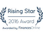 Rising Star Award 2016 - Finances Online