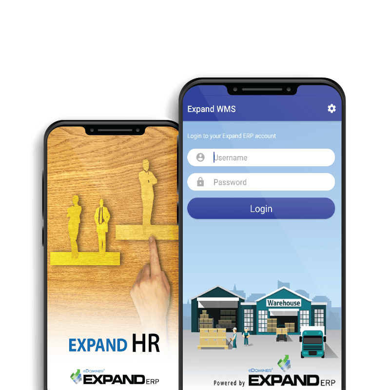 Easy manage your warehouse with Expand WMS mobile app