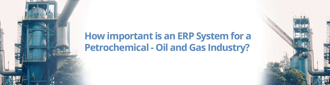 How important is an ERP System for a Petrochemical - Oil and Gas Industry?