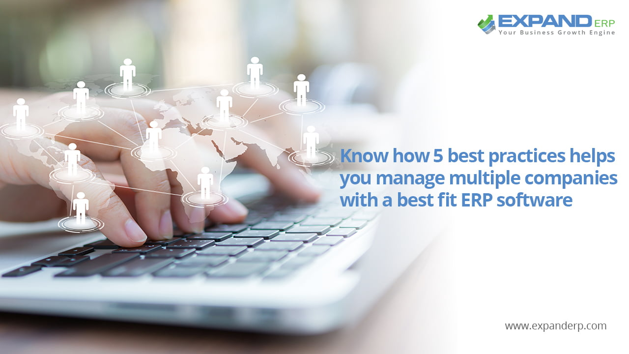 Multiple companies connected with one ERP system